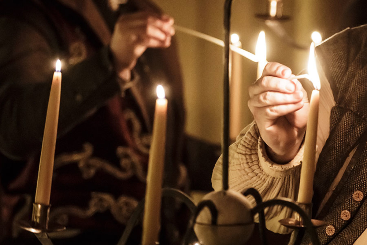 The Winter's Tale, playing at the Sam Wanamaker Playhouse at Shakespeare's Globe