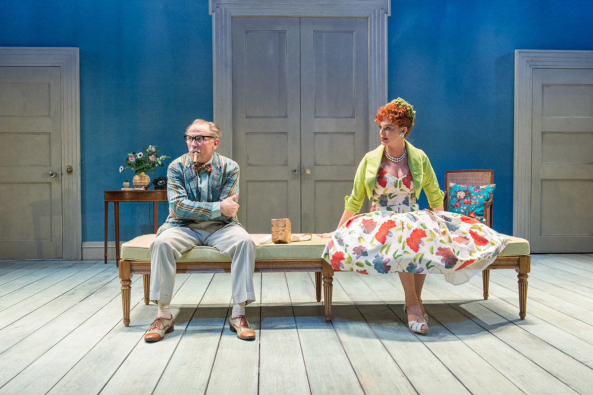 Danny Webb and Katherine Kinglsey in Welcome Home, Captain Fox! at the Donmar Warehouse (Photo: Manuel Harlan)