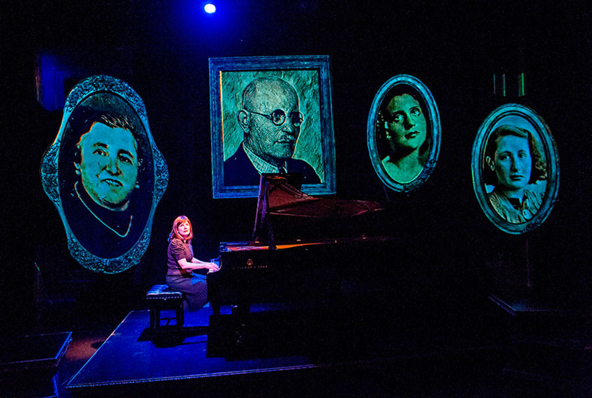 Mona Golabek in The Pianist Of Willesden Lane, playing at the St James Theatre