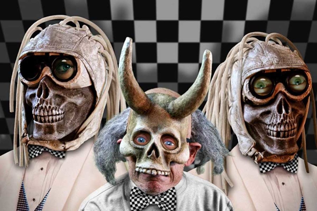 The Residents Present Shadowland Part 3, playing at the Hackney Empire