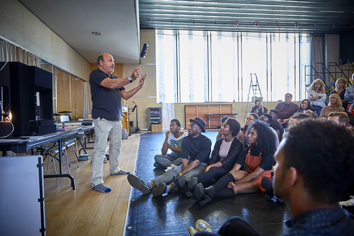 The first day of rehearsals for Dreamgirls (Photo: Ralf Brinkhoff)