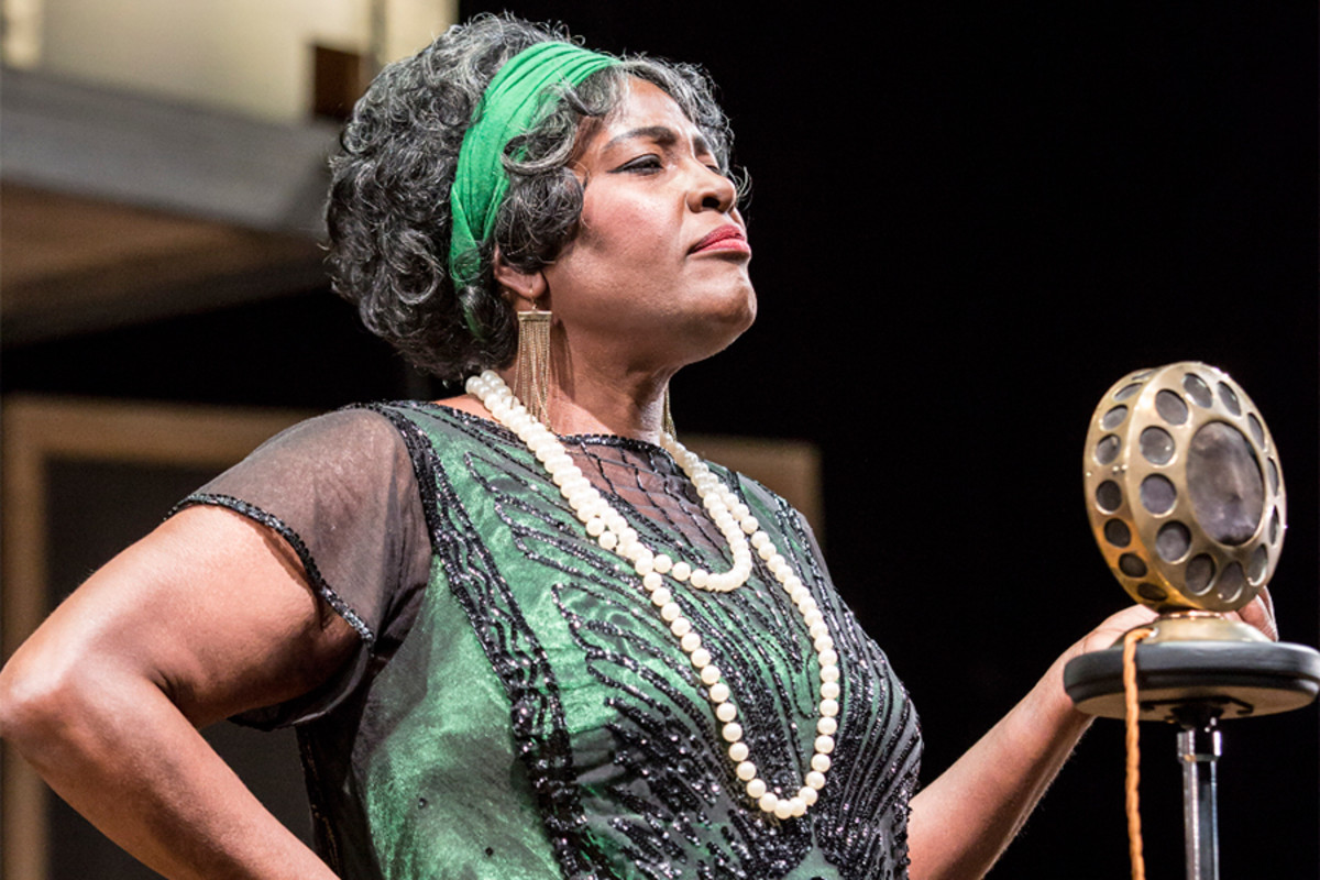 Sharon D Clarke in Ma Rainey's Black Bottom at the National Theatre (Photo: Johan Persson)