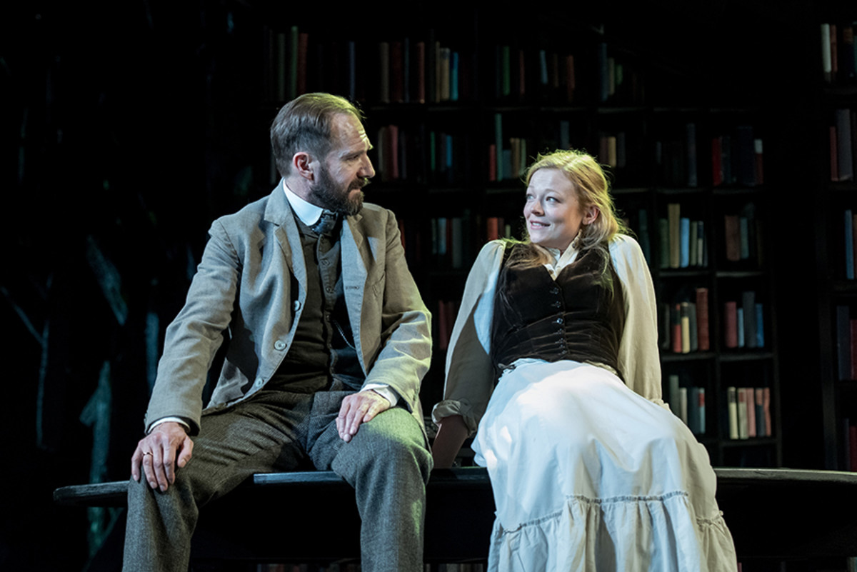 Ralph Fiennes and Sarah Snook in The Master Builder (Photo: Manuel Harlan)