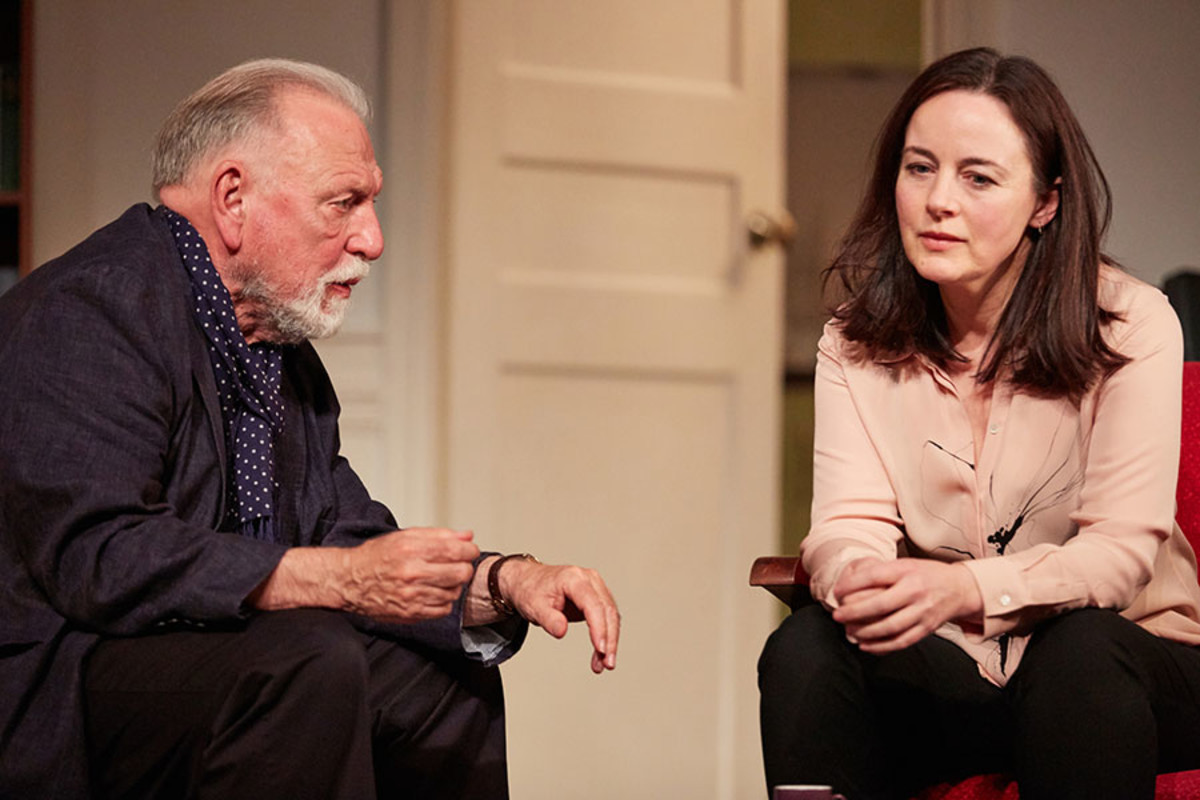 Kenneth Cranham and Amanda Drew in The Father, playing at the Duke of York's Theatre (Photo: Mark Douet)