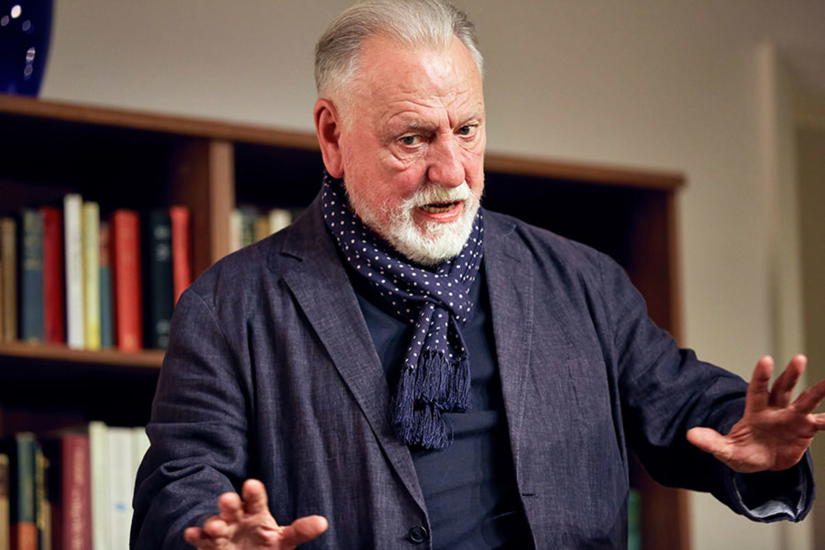 Kenneth Cranham in The Father, playing at the Duke of York's Theatre (Photo: Mark Douet)