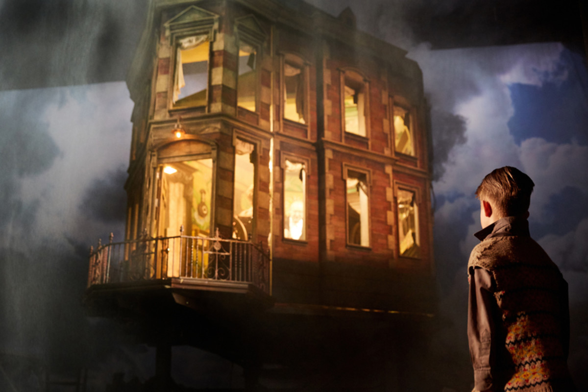 James Hill in An Inspector Calls at the Playhouse Theatre (Photo by Mark Douet)
