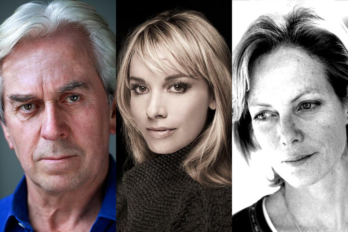 Nicholas Le Prevost, Tamzin Outhwaite and Jenny Seagrove