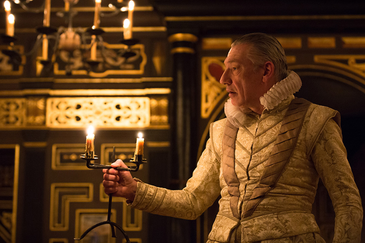 Simon Armstrong in The Winter's Tale at the Sam Wanamaker Playhouse (Photo: Marc Brenner)