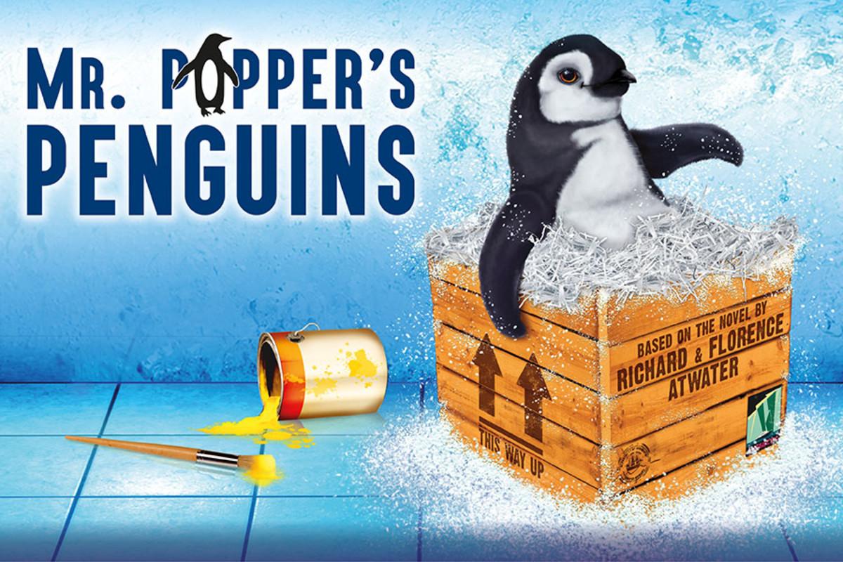 Mr Popper's Penguins, playing at the Artsdepot