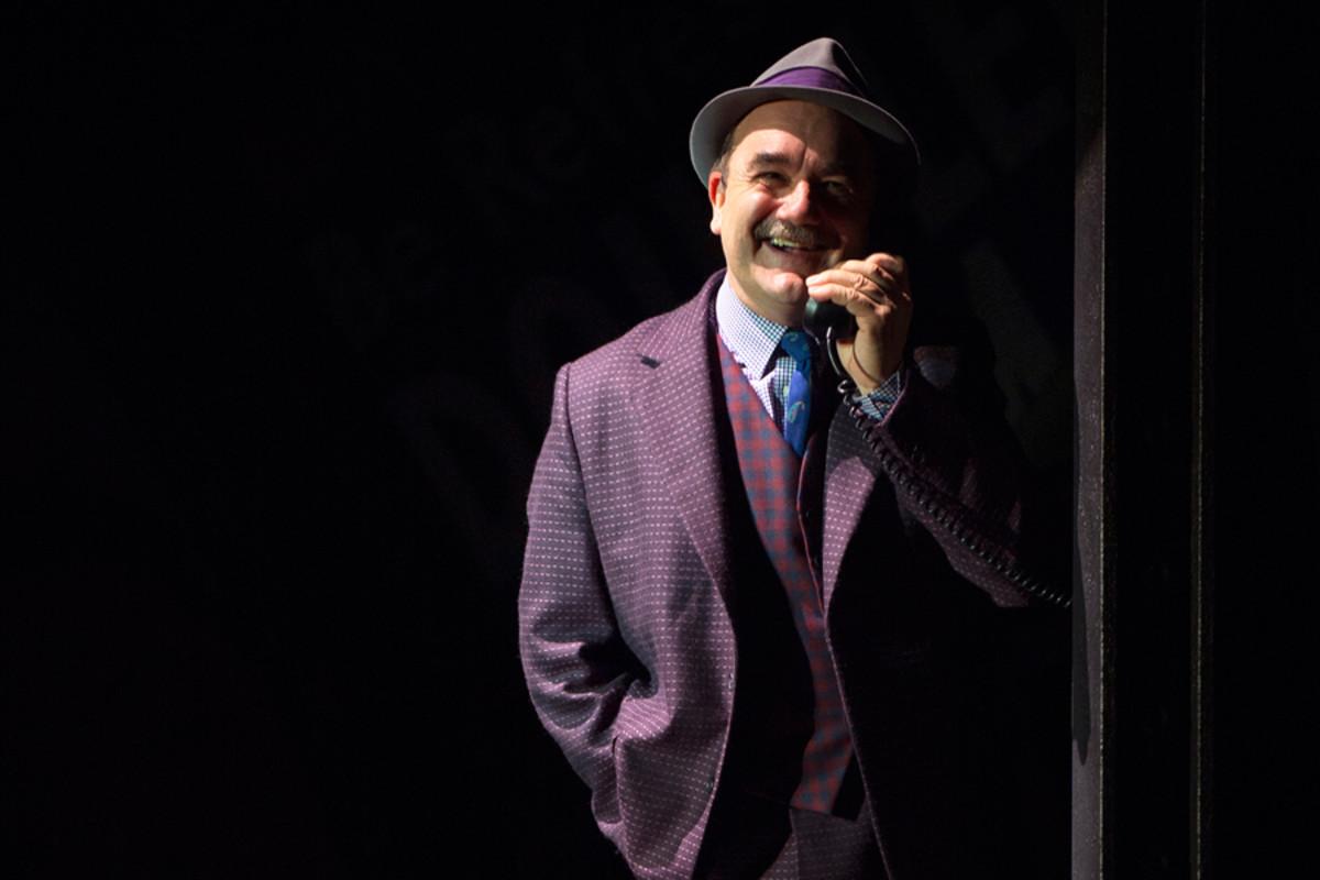 David Haig in Guys And Dolls (Photo: Paul Coltas)