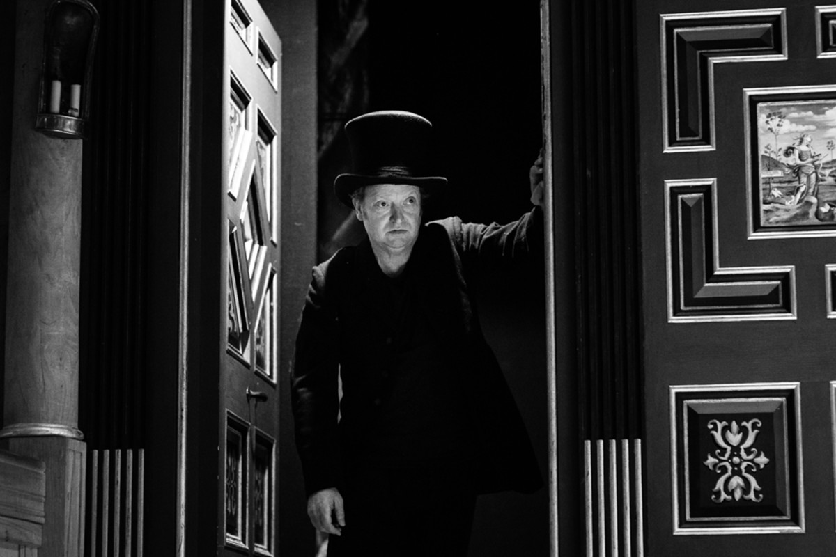 Paul Hunter in The Little Matchgirl And Other Happier Tales (Photo Steve Tanner)