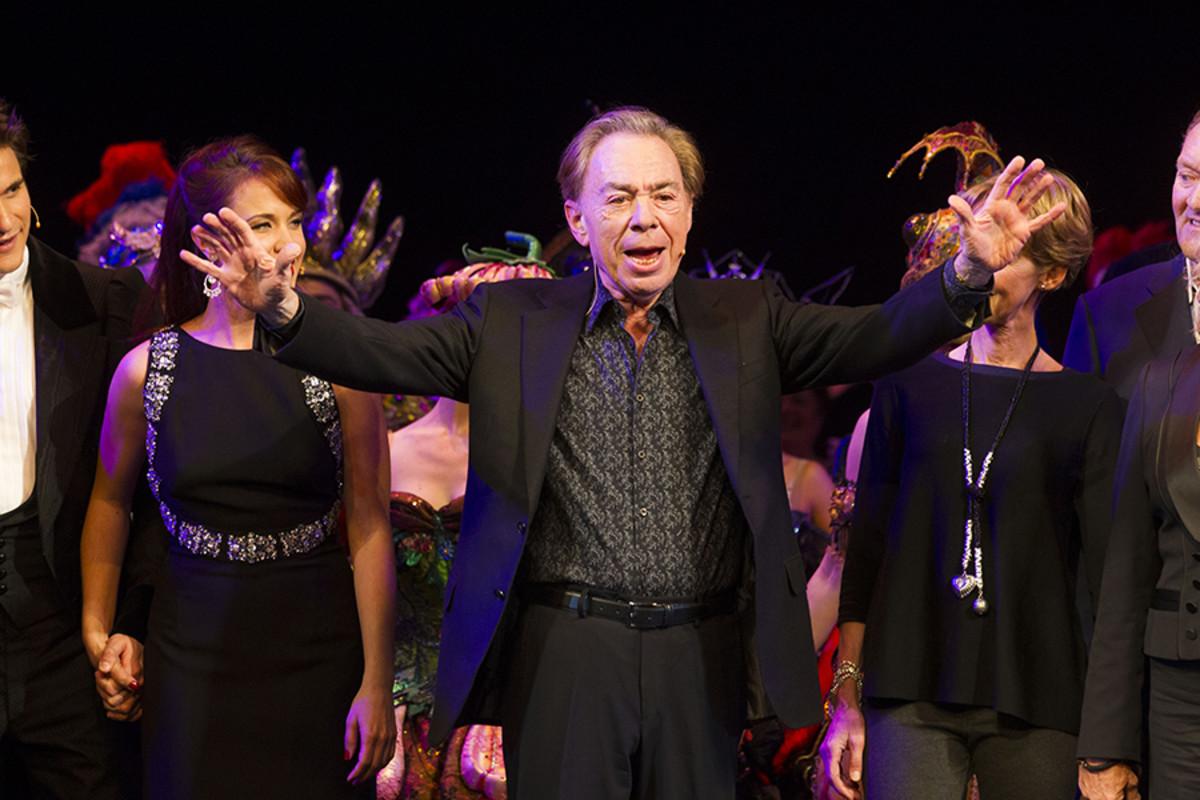 Andrew Lloyd Webber.  (Photo: Dan Wooller)