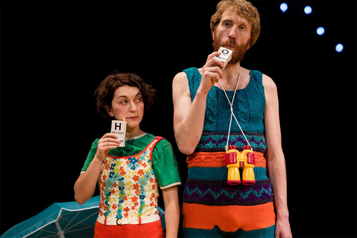 Jeramee, Hartleby And Oooglemore at the Unicorn Theatre (Photo: Richard Davenport)