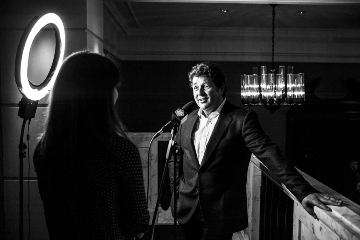 Official London Theatre interviews Michael Ball (Photo: Matt Humphrey)