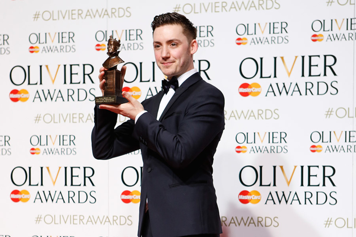 Drew McOnie, winner of the Olivier Award for Best Theatre Choreographer for In The Heights (Photo: Pamela Raith)