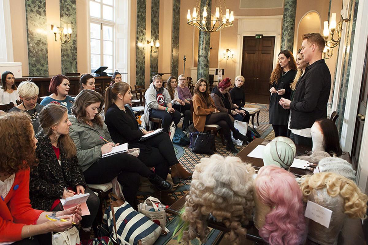 A workshop at TheatreCraft 2015 (Photo: Alex Rumford)