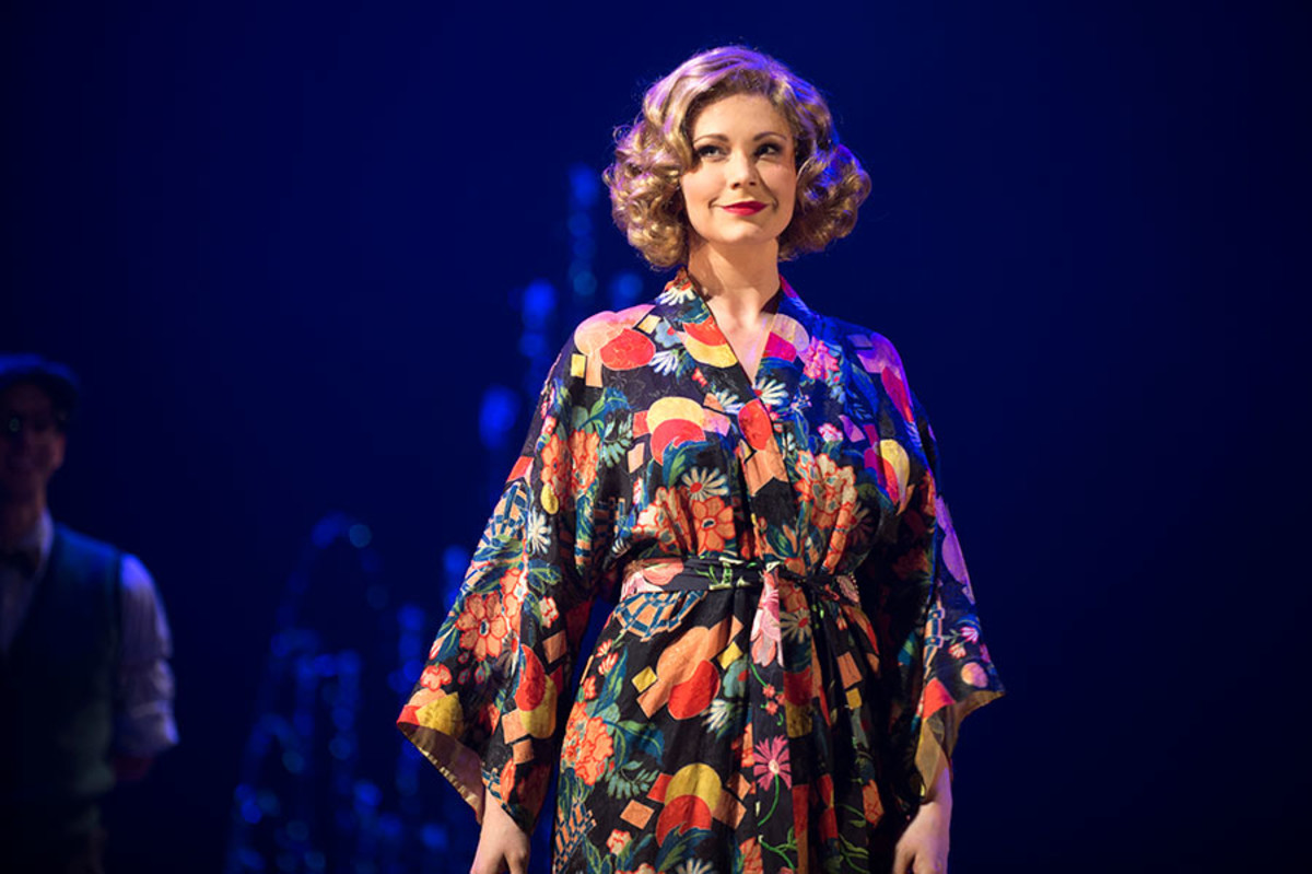 Emma Williams stars in Mrs Henderson Presents, the new musical at the Noel Coward Theatre (Photo: Paul Coltas)
