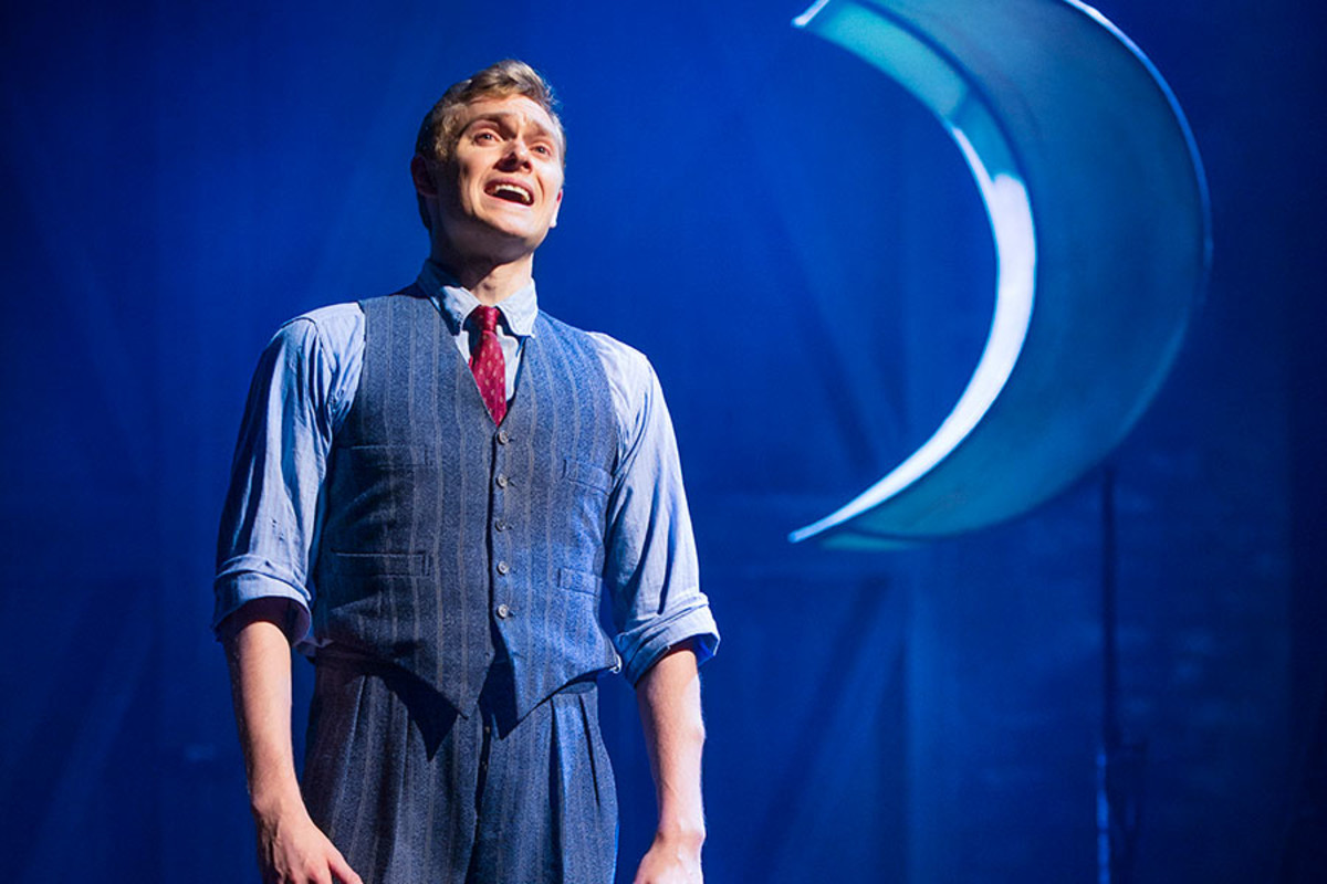 Matthew Malthouse stars in Mrs Henderson Presents, the new musical at the Noel Coward Theatre (Photo: Paul Coltas)