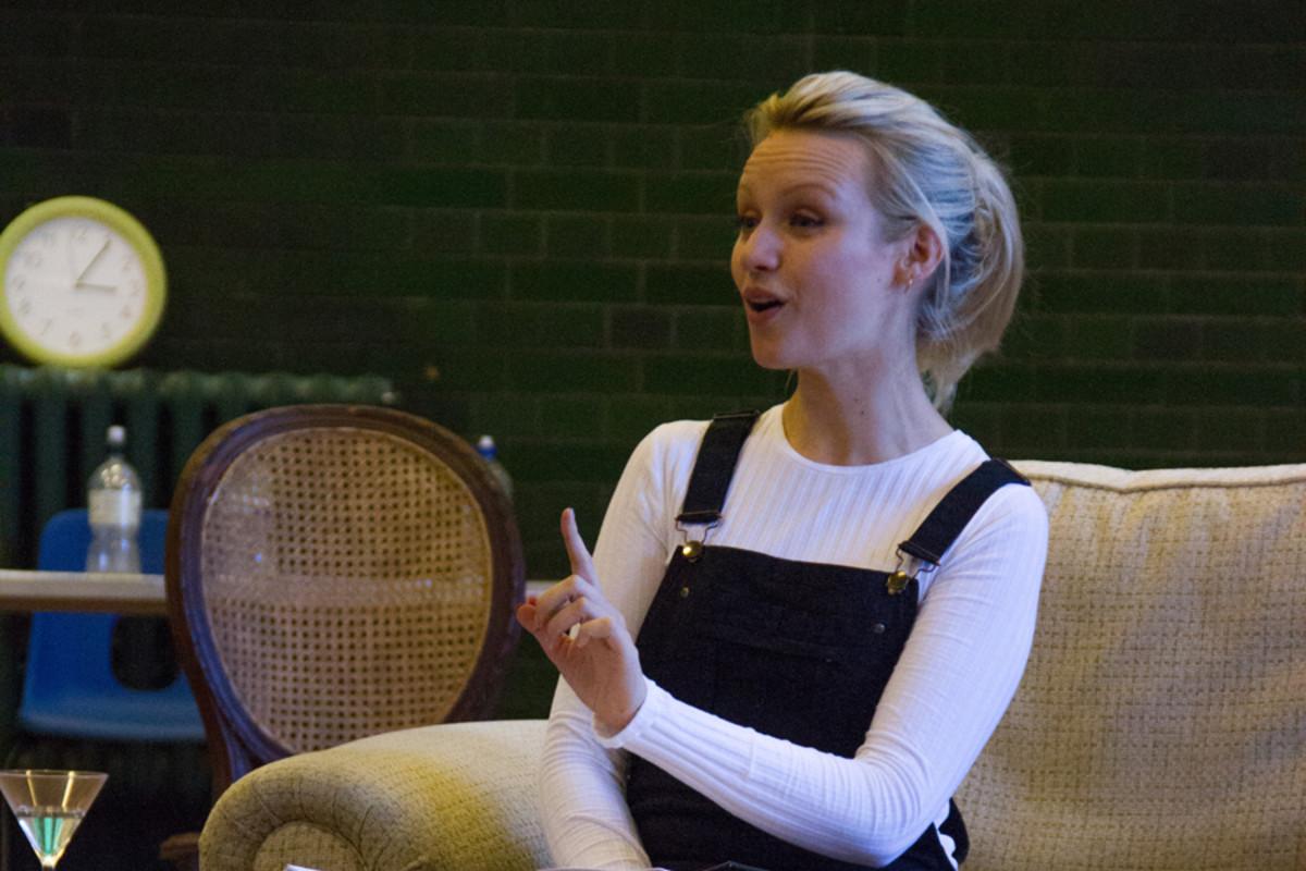 Emily Berrington in Dead Funny (Photo: Grace Wordsworth)