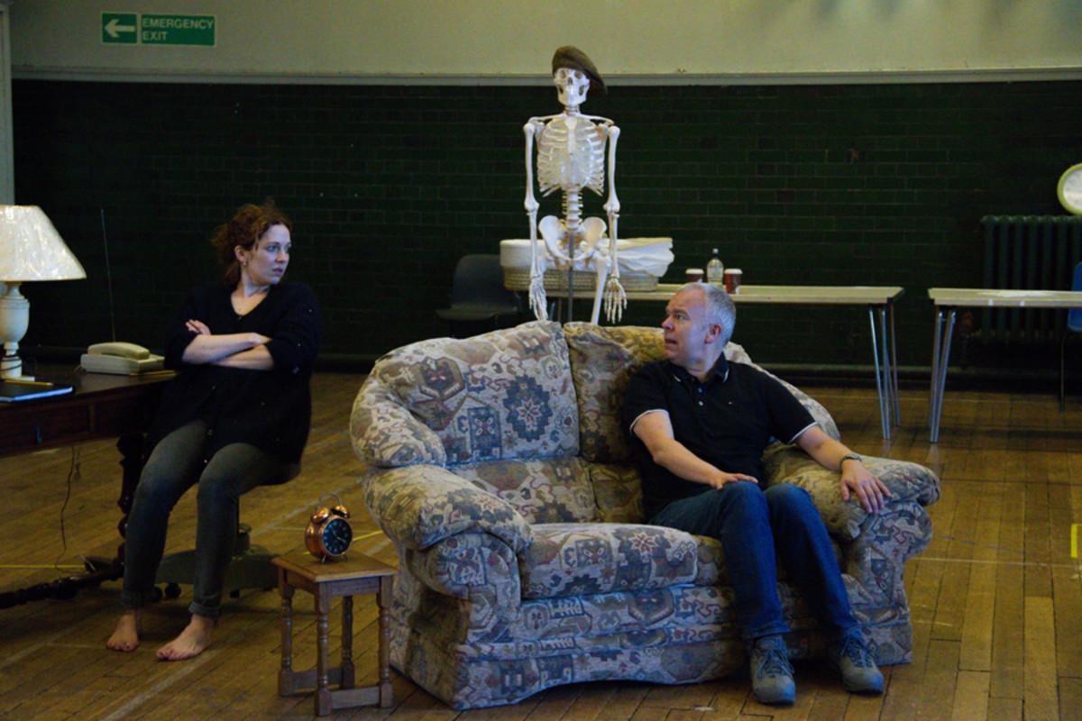 Katherine Parkinson and Steve Pemberton in Dead Funny (Photo: Grace Wordsworth)