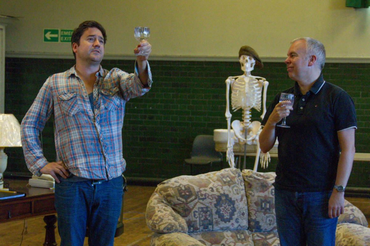 Rufus Jones and Steve Pemberton in Dead Funny (Photo: Grace Wordsworth)