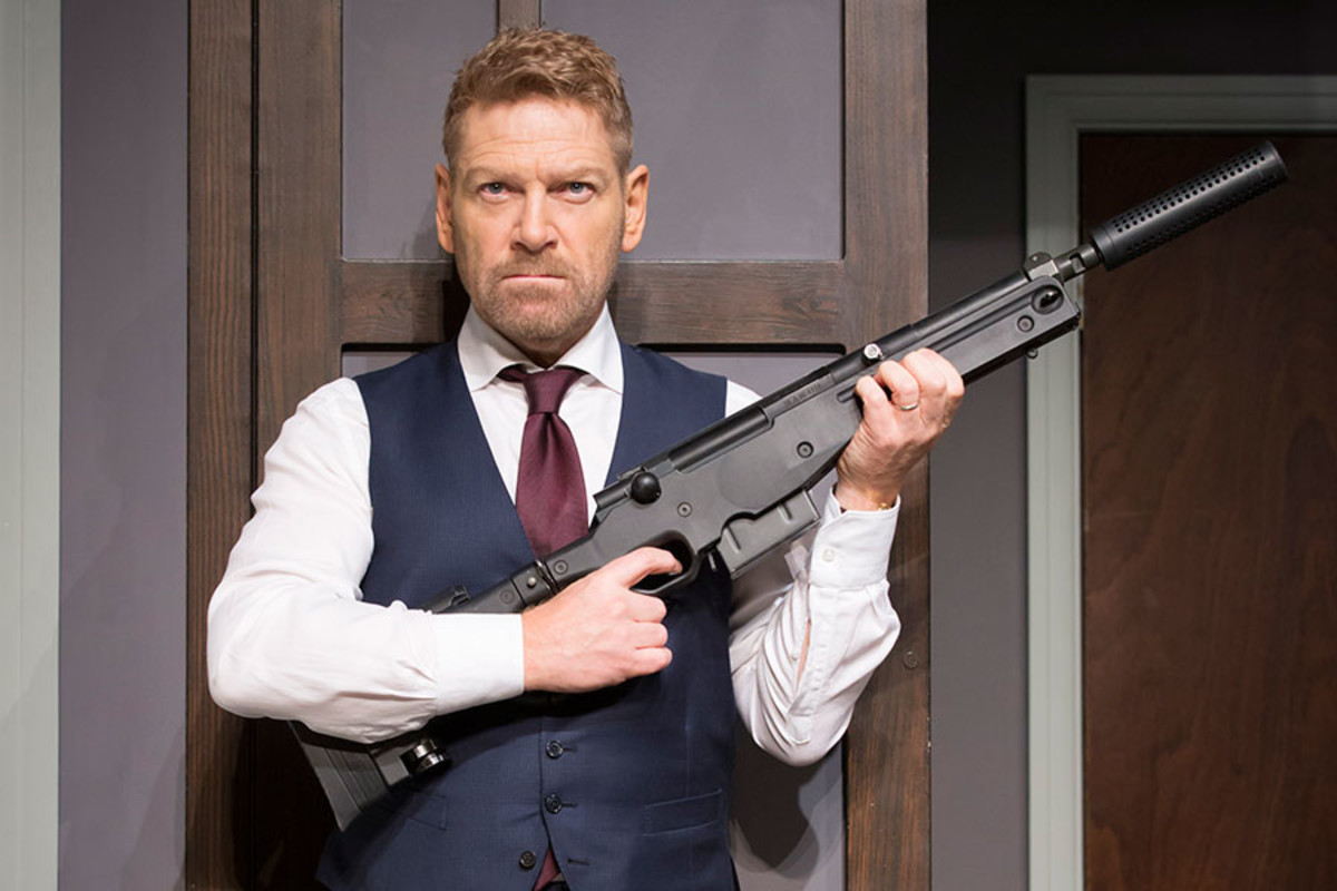 Kenneth Branagh in The Painkiller, playing at Garrick Theatre (Photo: Johan Persson)