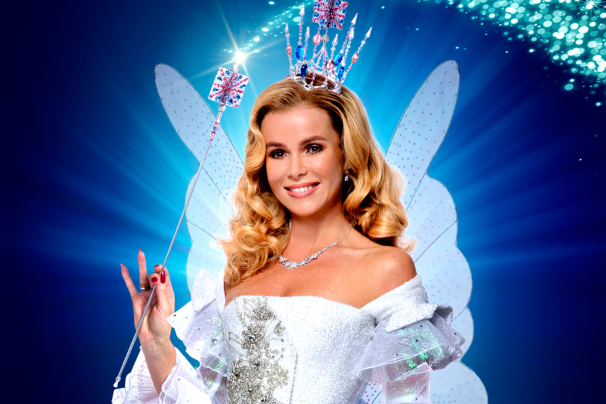 Amanda Holden as the Fairy Godmother