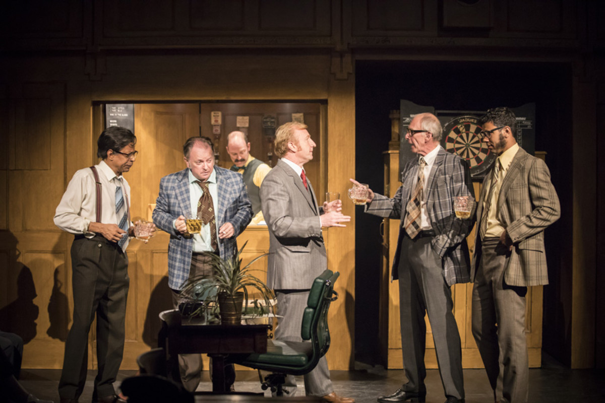 The company in This House at Chichester Festival Theatre (Photo: Johan Persson)