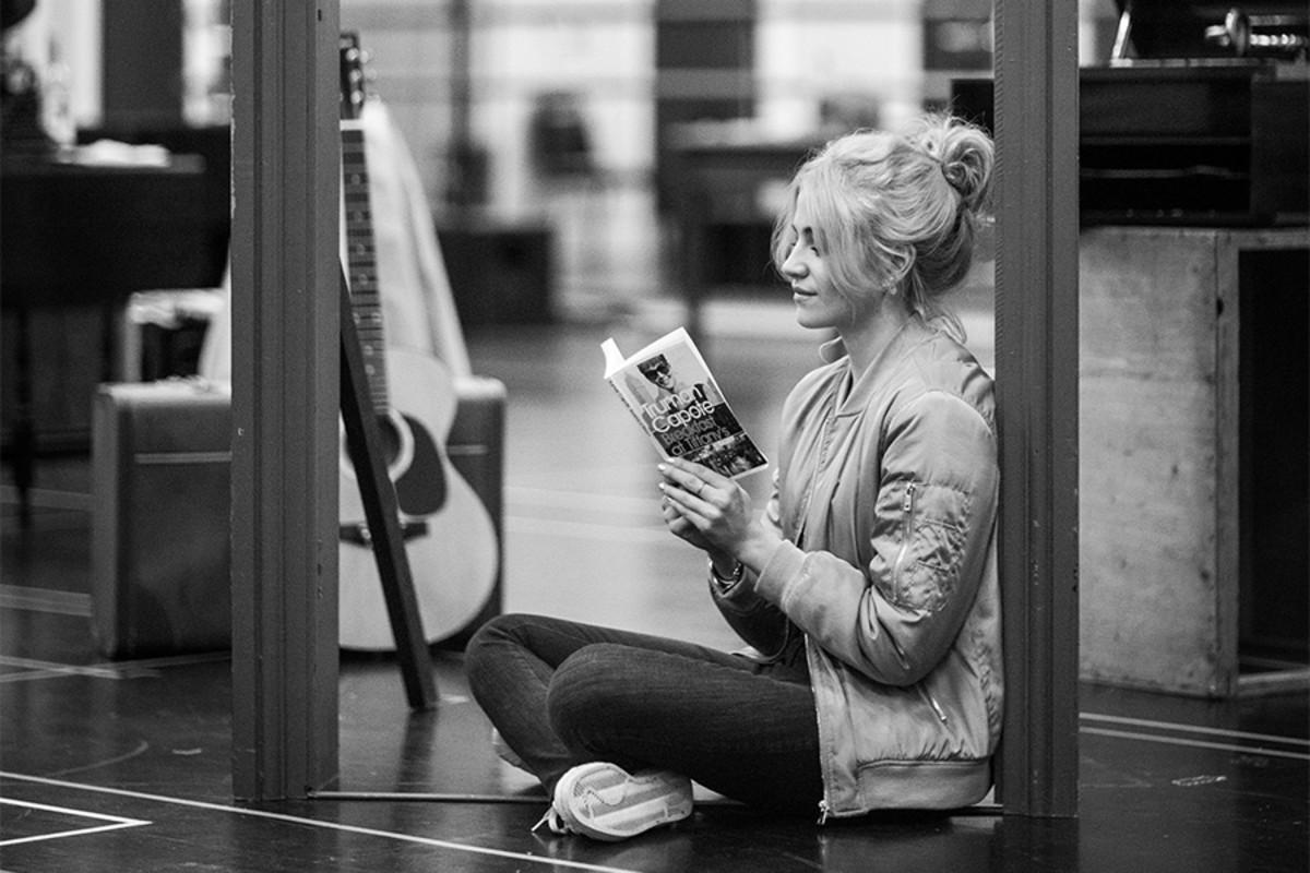 Pixie Lott in rehearsals for Breakfast At Tiffany's (Photo: Sean Ebsworth Barnes)