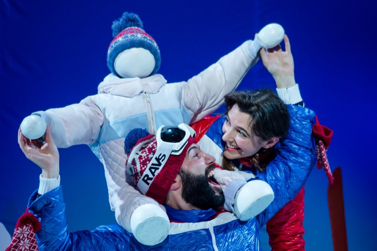 The Snow Child (Unicorn Theatre/Sheffield Crucible) Photo: Richard Davenport