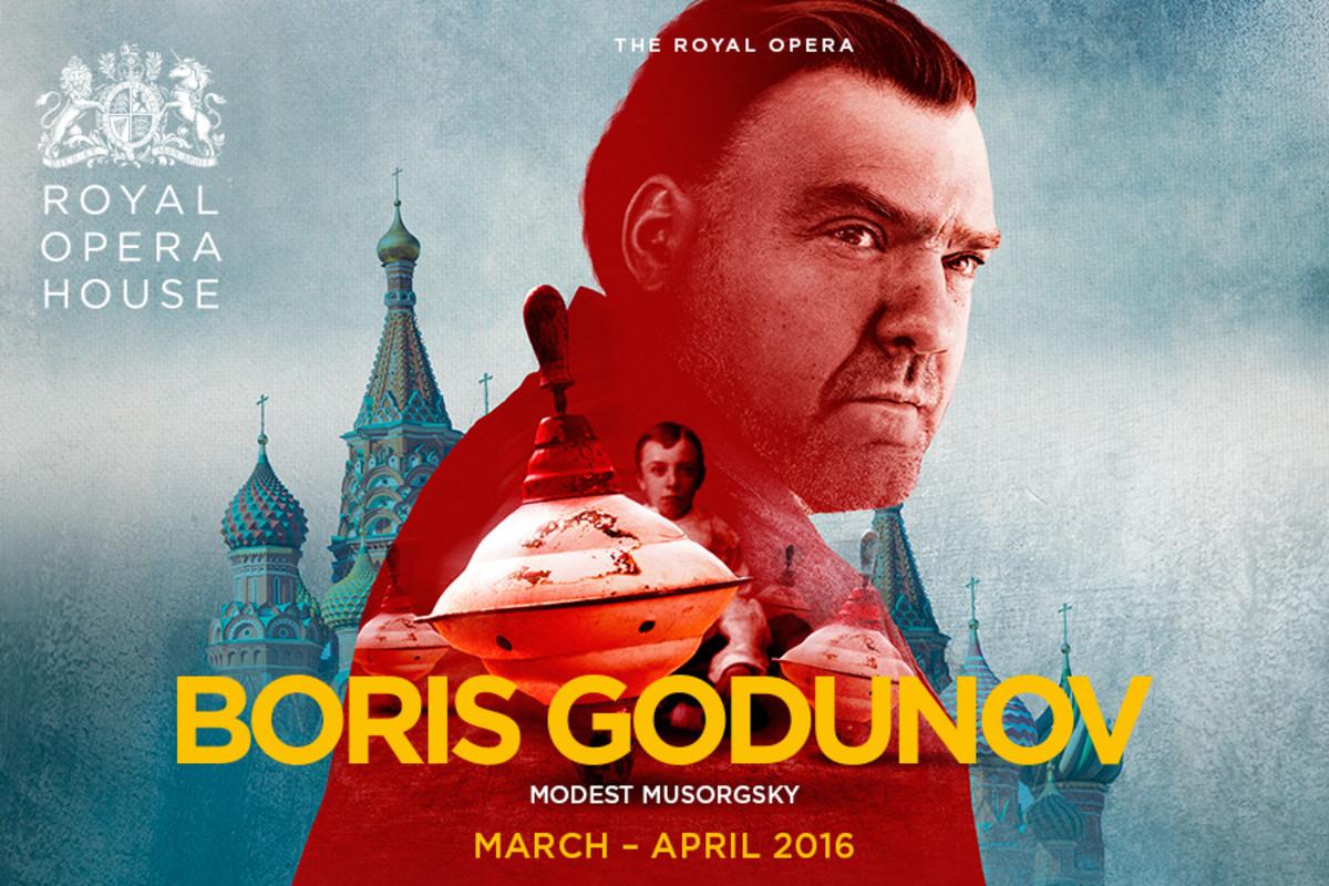 Boris Godunov, playing at the Royal Opera House