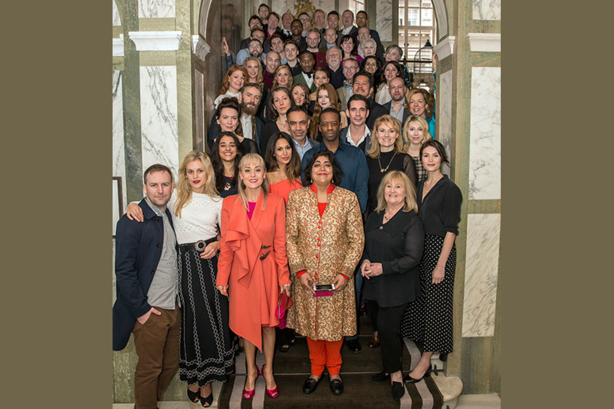 2016's Olivier Awards with MasterCard nominees (Photo: Jeff Moore)