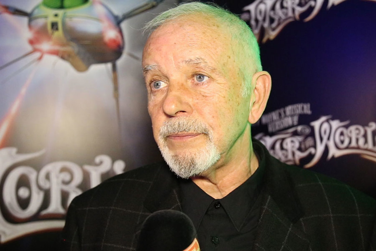 David Essex at The War Of The Worlds' gala night party