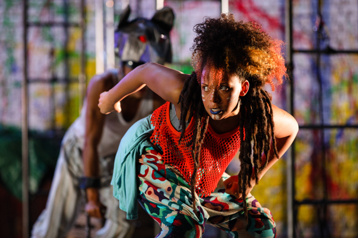 Tiger Lily (Lois Chimimba) in Peter Pan (Photo Steve Tanner)