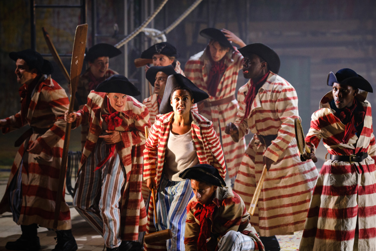 The Pirates in Peter Pan (Photo Steve Tanner)