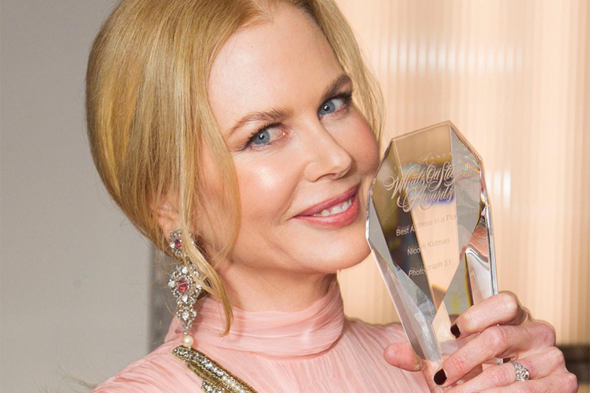 Nicole Kidman at the WhatsOnStage Awards (Photo: Dan Wooller)