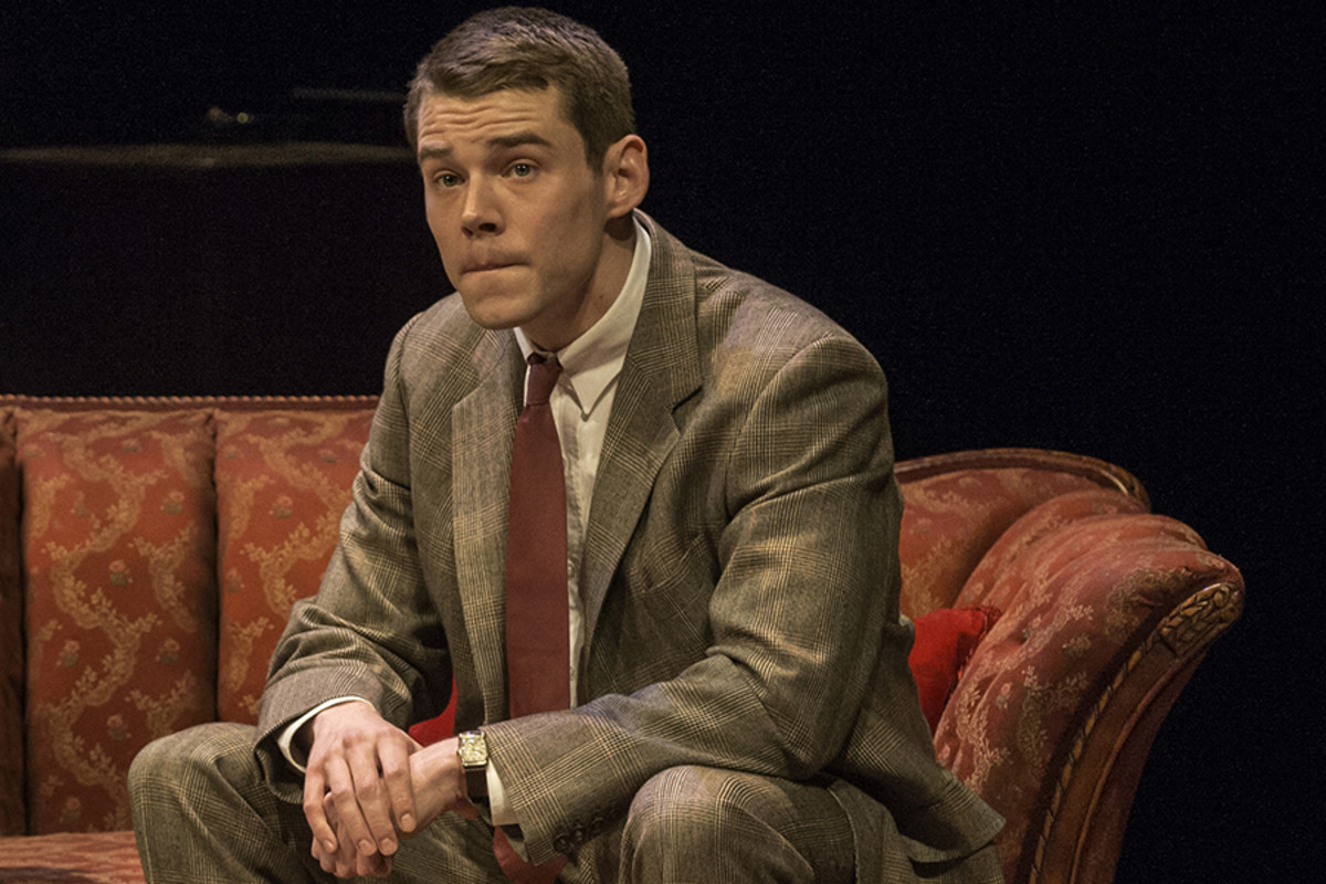 Brian J. Smith in The Glass Menagerie at the Edinburgh International Festival (Photo: Johan Persson)