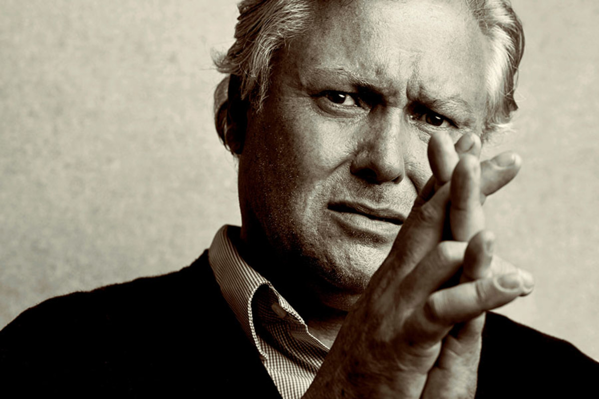 Conleth Hill plays George in Edward Albee's Who's Afraid Of Virginia Woolf? (Photo: Charlie Gray)