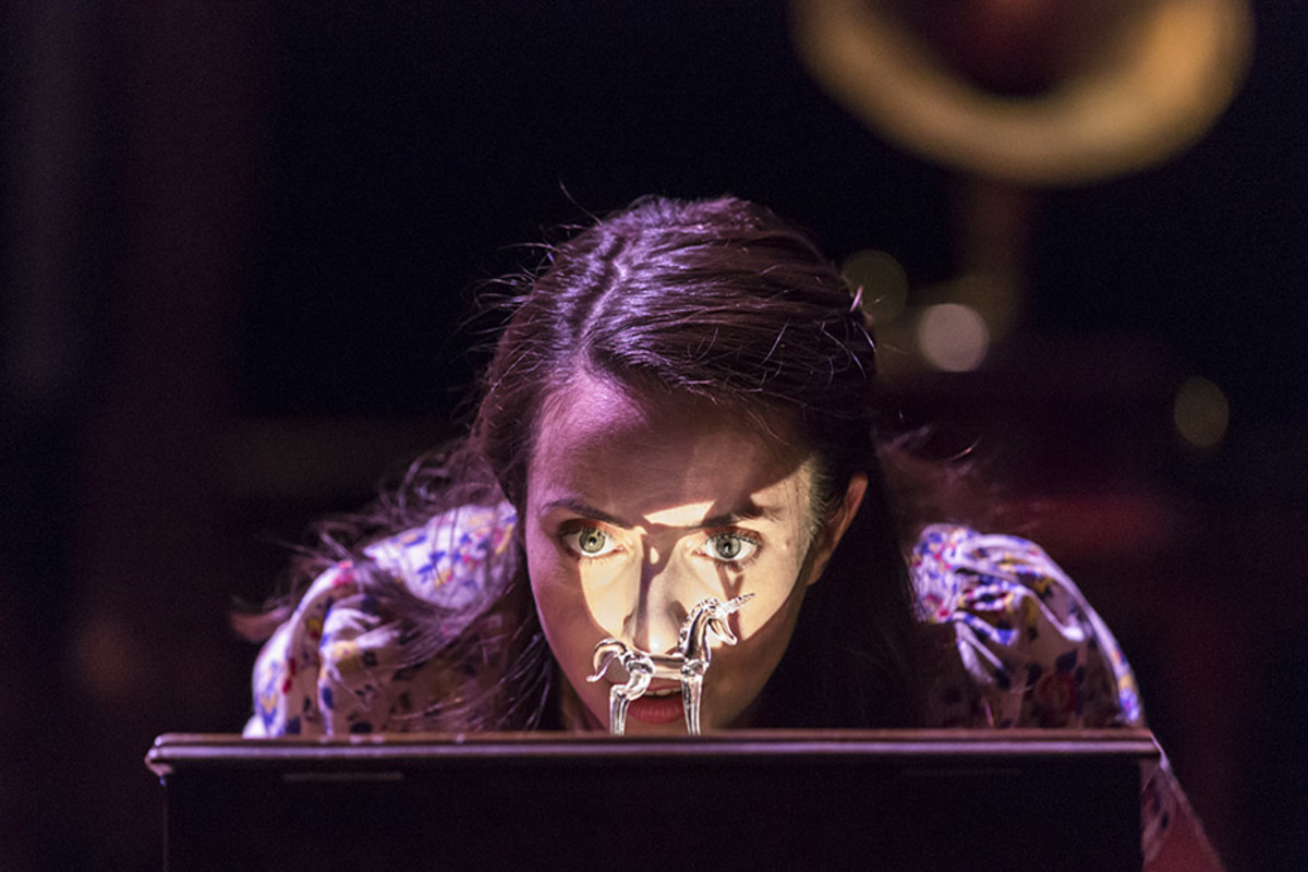 Kate O'Flynn in The Glass Menagerie at the Edinburgh International Festival (Photo: Johan Persson)
