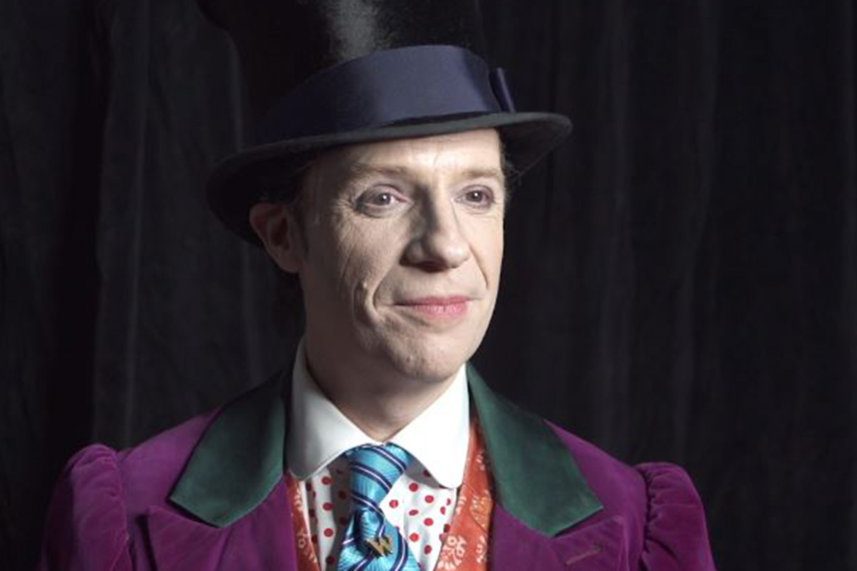 Charlie And The Chocolate Factory's Jonathan Slinger