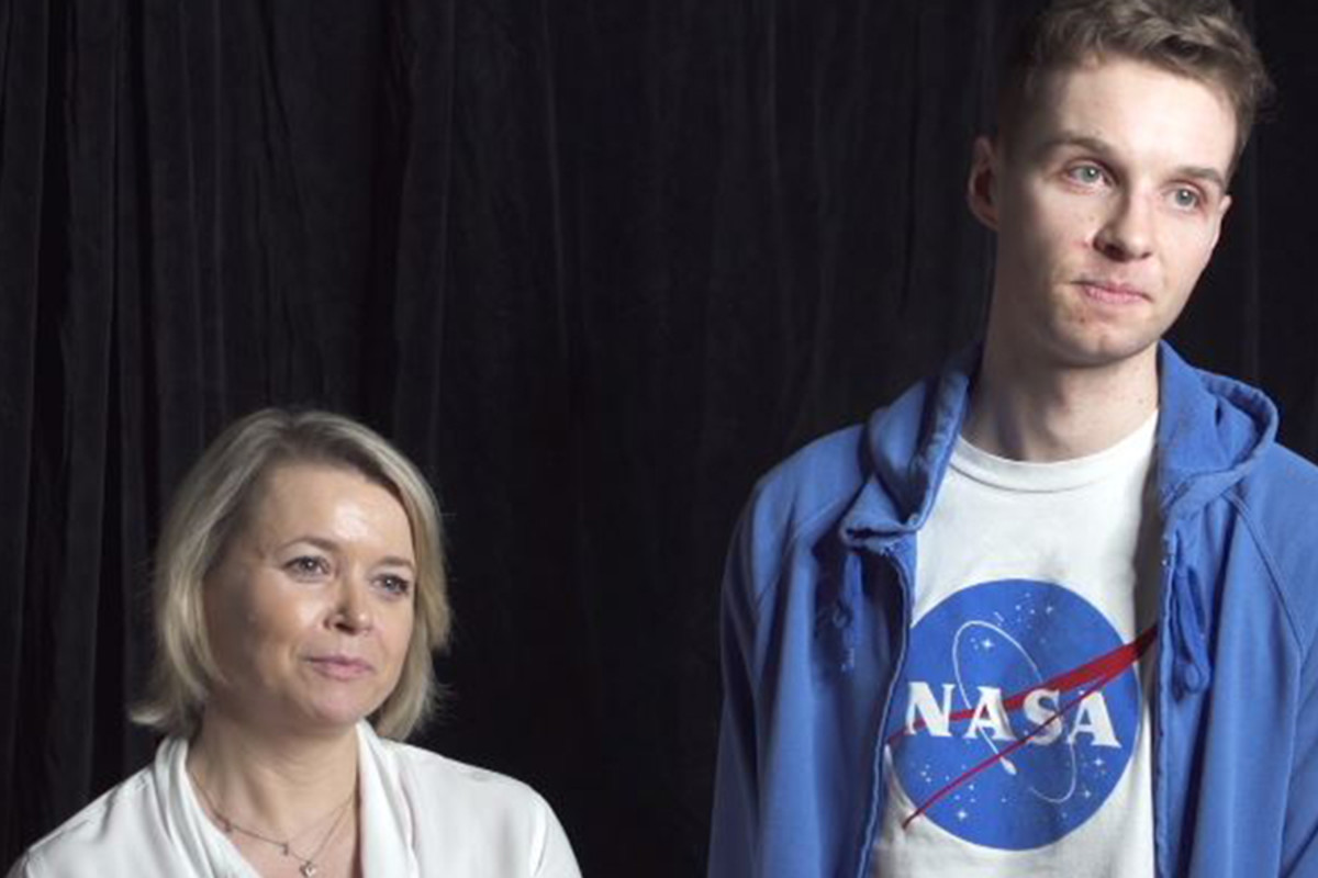 The Curious Incident Of The Dog In The Night-Time's Rebecca Lacey and Siôn Daniel Young