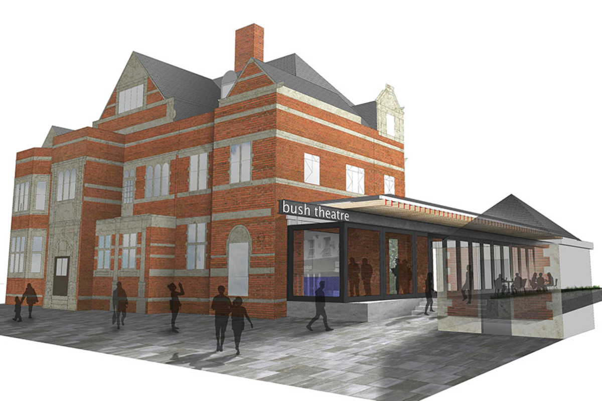 An artist's impression of the redeveloped Bush Theatre