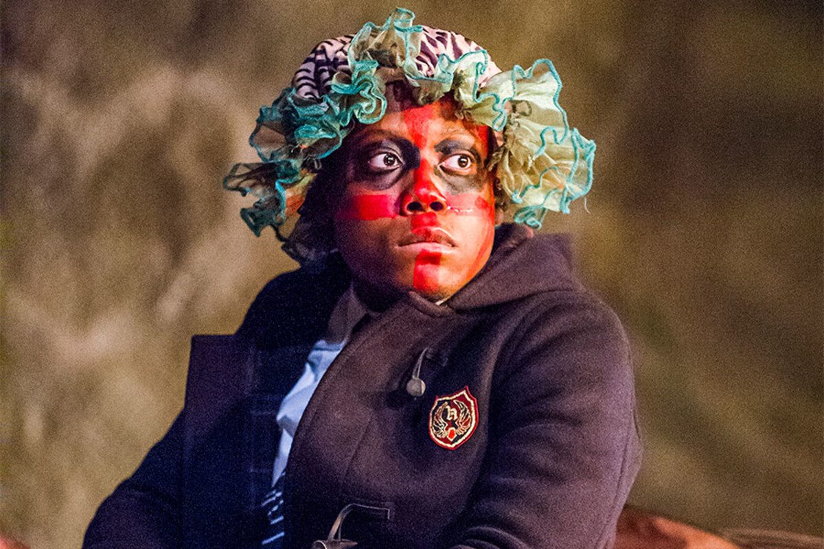 Moses Adejimi in Herons at the Lyric Hammersmith (Photo: Tristram Kenton)