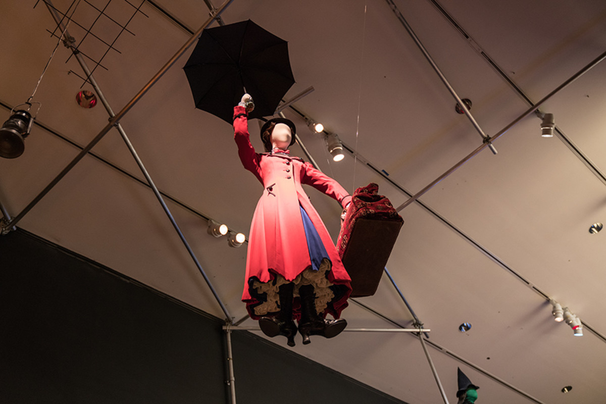 Costume for Mary Poppins at the Curtain Up Exhibition (copyright Jonathan Blanc & New York Public Library)