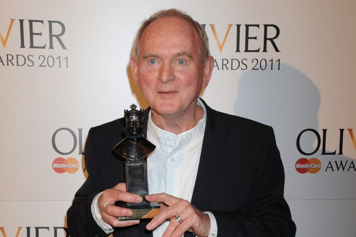 Howard Davies at the Olivier Awards in 2011 (Photo: Richard Young)