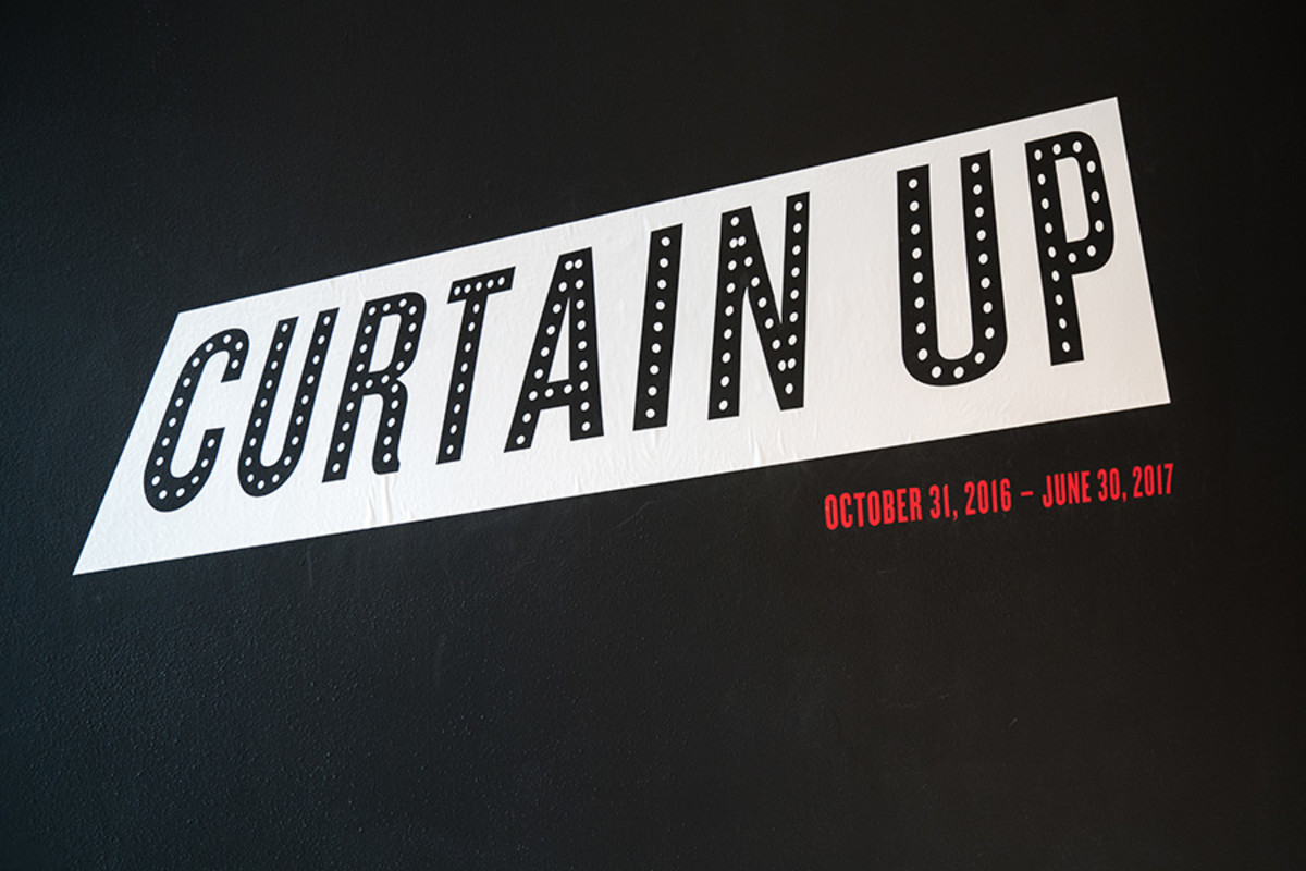 Curtain Up, celebrating the Last 40 Years of Theatre in New York and London (copyright Jonathan Blanc & New York Public Library)