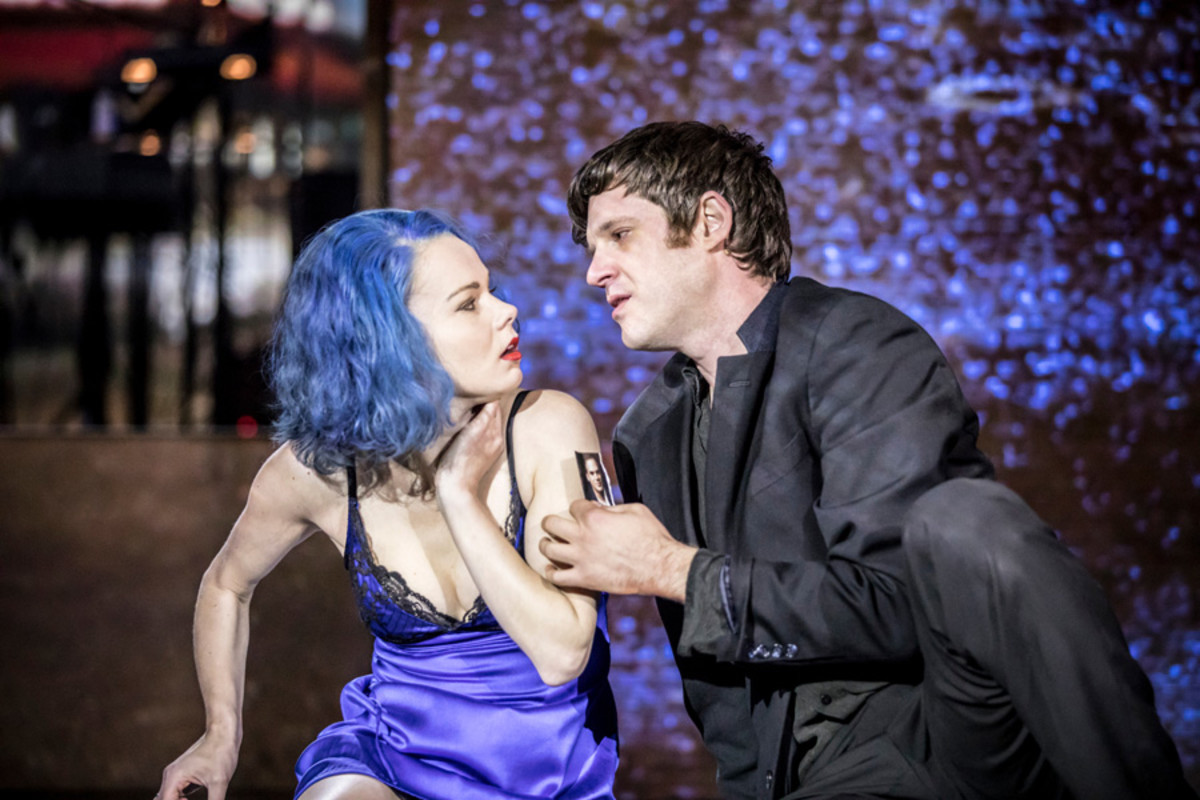 Amy Lennox (Elly), Michael Esper (Valentine) in Lazarus (Photo: Johan Persson)
