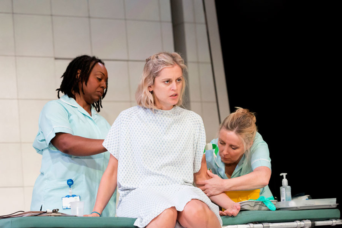 Jacqui Dubois, Denise Gough and Sally George in People, Places And Things (Photo: Johan Persson)