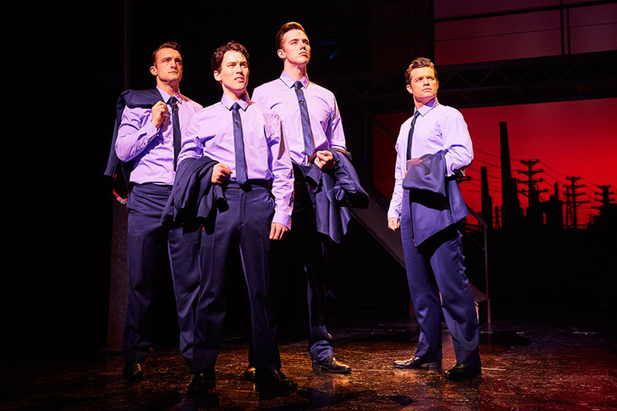 Jersey Boys, playing at the Piccadilly Theatre