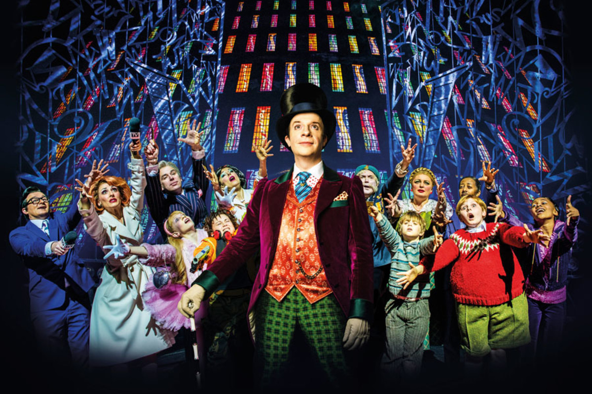 Jonathan Slinger as Willy Wonka in Charlie And The Chocolate Factory (Photo: Matt Crockett)